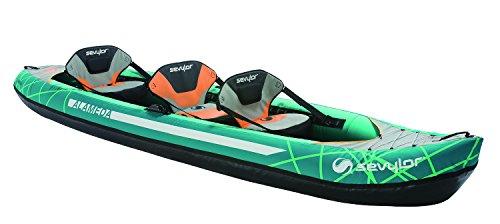 three-seater kayak