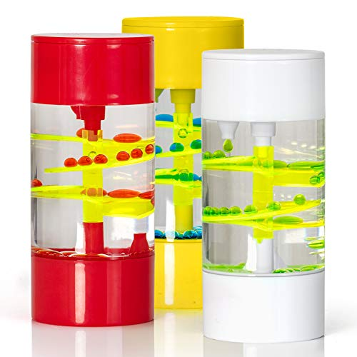 Big Mo's Toys Liquid Motion Spiral Timer Toy for Sensory...