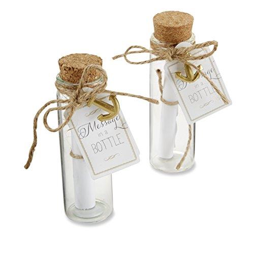 Kate Aspen 'Message in a Bottle Glass Favor Bottle, Party...