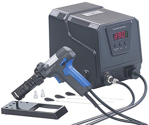 AGT Löten: Digitale Profi-Entlötstation mit Vakuum-Pumpe, 160-480 °C, 200 Watt (Entlötgerät)