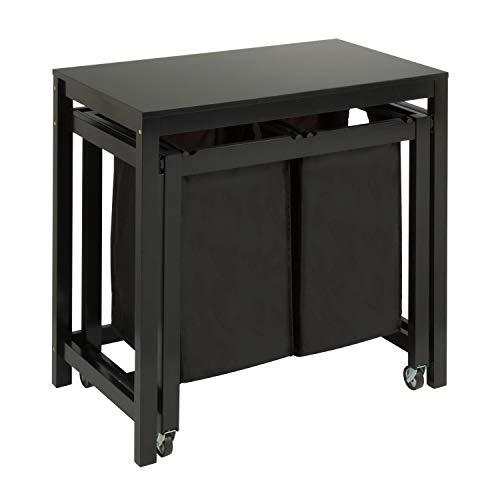 Honey-Can-Do Double Sorter Folding Table SRT-03571 Laundry Folding