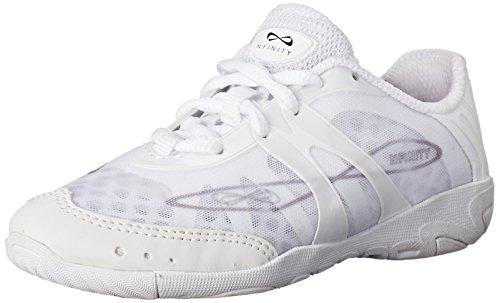 Nfinity Vengeance Cheer Shoe (Pair), White, 8