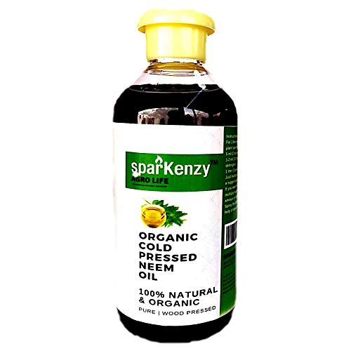 Sparkenzy Neem Oil for Plant 200ml for Pest Control | Organic Cold Pressed|