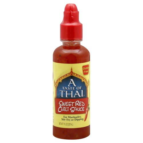 A Taste of Thai Sweet Red Chili Sauce, 7 Fluid oz(Pack of 2)