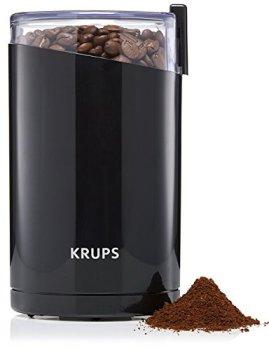 Krups Moulin à Café Électrique Fast Touch, 200 W, Broyeurs à Grains, Moudre Épices, Fruits Secs F2034210