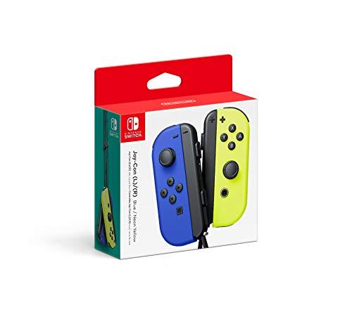 SNUNGPHIR Nintendo Blue/Neon Yellow Joy-con (L-R) - Switch