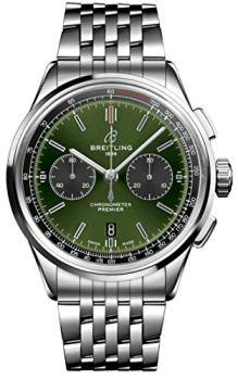 Breitling Bentley Premier B01 Chronograph Green Dial 42mm AB0118A11L1A1
