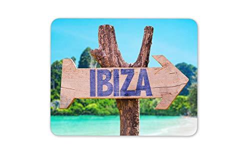 Ibiza Sign Alfombrilla para ratón - España Island Summer Holiday Cool Computer Gift # 15021