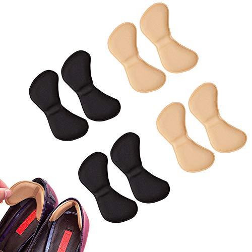 EQLEF® 4 pares talón de las plantillas del zapato evitar...
