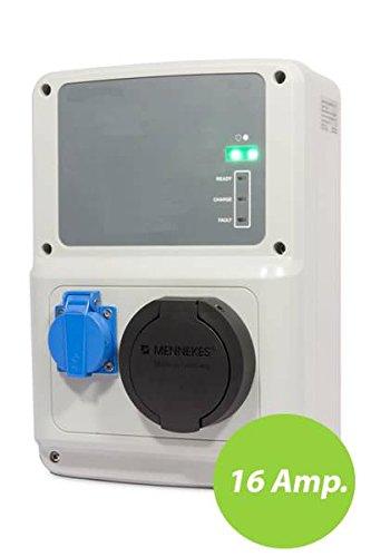 Wallbox Modo 3 Conector Mennekes 16 Amp y Schuko
