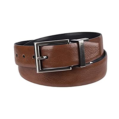 REVERSIBLE 2 in 1 BELT: A versatile belt for boys who need to look great throughout the whole day; To fully enjoy your belt, simply pull apart the buckle at the hinge while rotating it and put it back in place to use your belt one way or another HOW ...