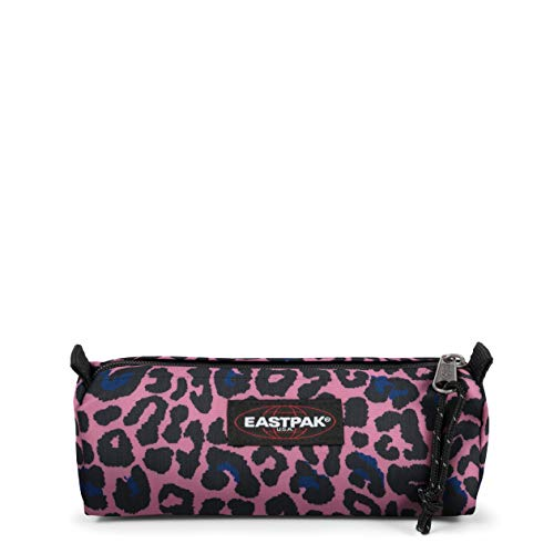 Eastpak Benchmark Single Astuccio, 21 cm, Azzurro (Safari Leopard)