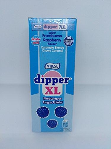DIPPER XL FRAMBUESA - PINTALENGUAS - 15 UNIDADES - VIDAL