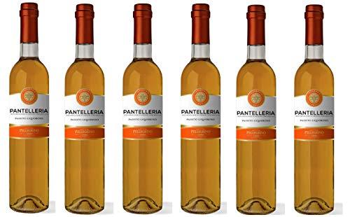- 6 BOTTIGLIE - Pantelleria Passito Liquoroso DOCG 500ml Pellegrino 1880