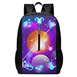 XuZhiXianX School Travel Business Bag Laptop BackpackOld Cracked Paint Black Marble Laptop Backpack Shoulder Bookbags Bag for Womens Mens Youth 17'