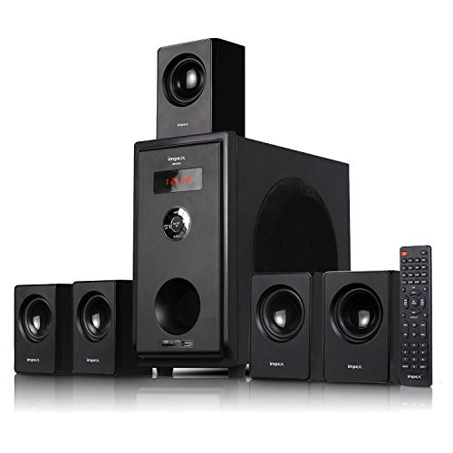 Impex 5.1 Opera 45 W Multimedia Home Theater System with FM/SD/USB/MMC/Bluetooth & Remote Control Support (Black)