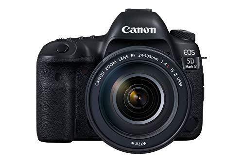 Canon EOS 5D Mark IV 30.4 MP Digital SLR Camera (Black) + EF 24-105mm is II USM Lens Kit 1