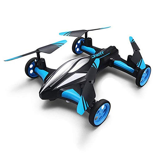 OD.zepp Drone con Ruote, velivoli di Controllo remoto Aerei a Quattro Assi terrestri e Aerei a...