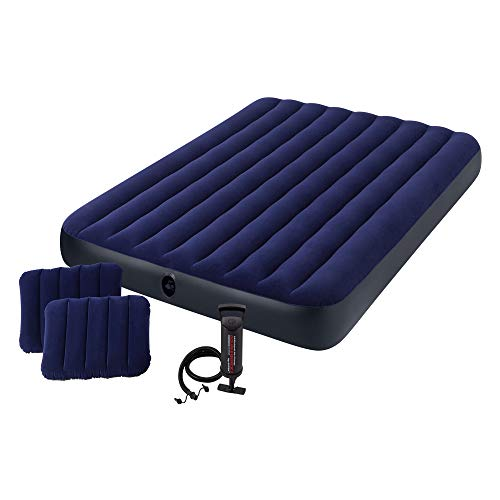 Intex Classic Downy Airbed Set with 2 Pillows and Double...
