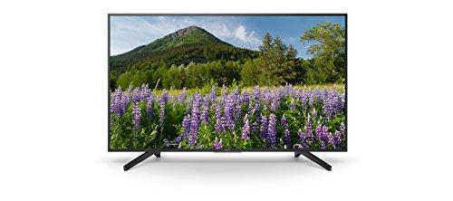 "Sony Kd-43Xf7096 - Televisor 43"" 4K HDR Led con Smart TV (Motionflow XR 400 Hz, 4K X-Reality Pro, Wi-Fi), Negro"
