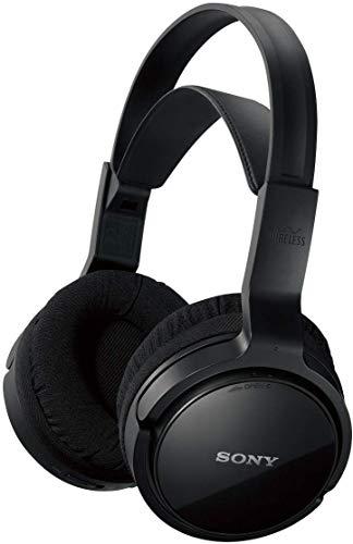 Sony MDR-RF811RK - Cuffie TV wireless over-ear, Portata 100 metri, Batteria fino a 13 ore, Nero