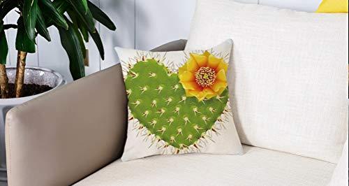 Per Divani Decorativo Divano Caso Federa Cuscino Soft, Decorazioni di cactus, Cactus spinoso a forma...