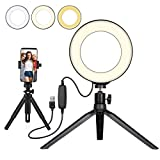 Beauty LED Ring Light Dimmable Selfie Light Maquillage Photographie...