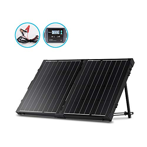 Renogy 100 Watt 12 Volt Monocrystalline Off Grid Portable...
