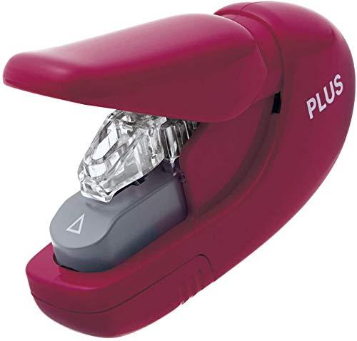 PLUS JAPAN Japan, cucitrice senza punti di fissaggio, colore rosso vino, capacit di spillatura 5 fogli, SL-106AB WR