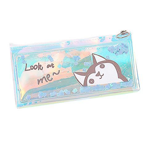 wersdf Astuccio portapenne Piccolo astucci Kawaii per la Scuola Cute Pencil Case Teenage Girl Pencil...