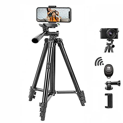Trepied Smartphone, CD130 Caméra Trépied de Voyage avec Télécommande,...