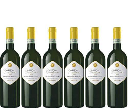 6 bottiglie per 0,75 l -CUCAIONE - VERMENTINO DI GALLURA DOCG SUPERIORE