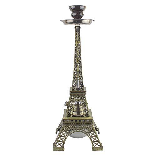 PAIDE P Shisha de diseño París Premium - 52 centímetros - Torre Eiffel - Cachimba Hookah Premium BT-001