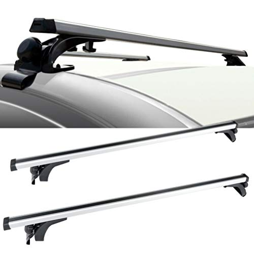 OCPTY Roof Rack Cross Bar Cargo Carrier Fit For 2017 Toyota Prius Prime,2012-2017 Toyota Prius V,1991-1997 Toyota Tercel,2012-2018 Toyota Prius C Adjustable 50 Roof Rack Crossbars