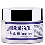 ZOWIX Crema antiarrugas piel grasa mujer y hombre.Matificante al Acido Hialuronico AntibrillosSim...