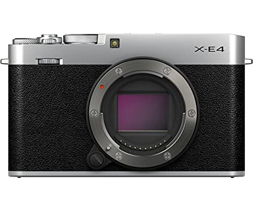 富士フイルム ミラーレスデジタルカメラ X-E4 ボディ シルバー F X-E4-S