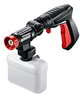 Easily clean hard-to-reach dirt: 360° joint provides full rotation of the nozzle Attachable high-pressure detergent nozzle for deeper cleaning of vehicles Variable Fan Jet Nozzle provides both forceful wash and gentle rinsing options Features push-fi...