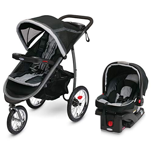Jogging Stroller and Car Seat