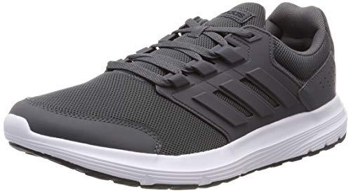 adidas Galaxy 13, Zapatillas de Running Hombre, Gris (Grey Five), 45 1/3 EU