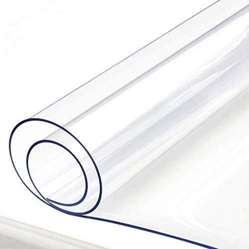 YAHUO オフィス用品 PVC製 デスクマット 透明 テーブルマット パソコンマット ノートパソコンマット 厚さ1....