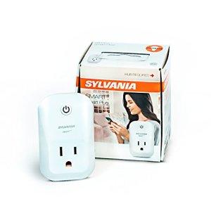 SYLVANIA SMART + ZigBee Indoor Smart Plug, Works with SmartThings, Wink, and Amazon Echo Plus, Hub Needed for Amazon Alexa and the Google Assistant