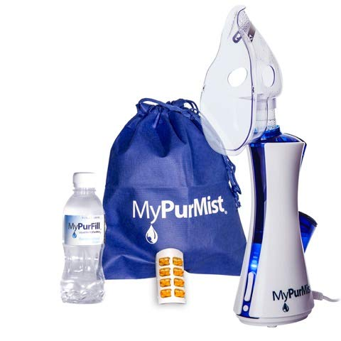 MyPurMist Classic Handheld Personal Vaporizer and Humidifier (Plug-in) with Free ScentPad