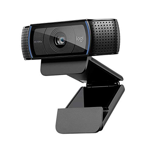 Logitech C920 Hd Pro Webcam (Black) Black