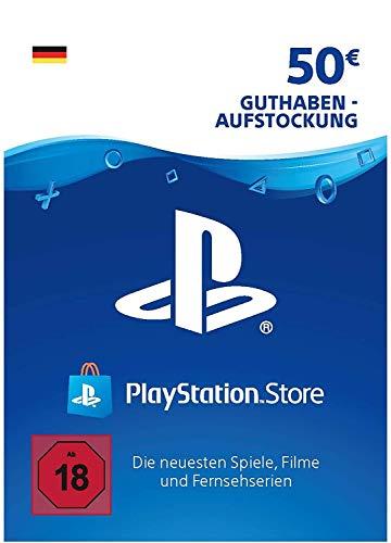 PSN Guthaben-Aufstockung  50 EUR   deutsches Konto   PS5/PS4/PS3 Download Code