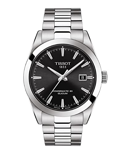 Tissot Herren-Armbanduhr Gentleman Powermatic 80 Silicium T127.407.11.051.00