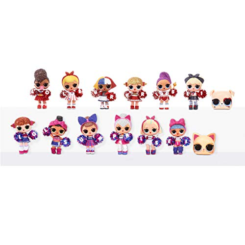 Image 5 - LOL Surprise All-Star BBs - Équipe de pom-pom girls - Poupée étincelante sportive avec 8 Surprises et accessoires - All-Star BBs Série 2 - Poupées à collectionner pour les filles de 3 ans et +