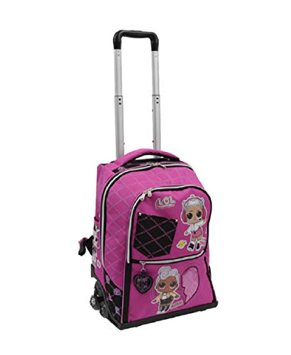 Zaino Scuola Trolley LOL Surprise Spinner 3 Ruote 47x34x23 cm