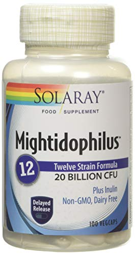 Solaray, Multidophilus 12, 20 Billion, 100 Veg. Kapseln