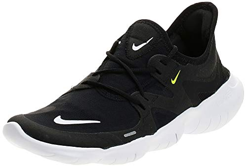 Nike Damen WMNS Free Rn 5.0 Leichtathletikschuhe, Mehrfarbig (Black/White/Anthracite/Volt 000), 39 EU
