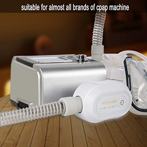 Denshine Portable Mini CPAP Cleaner, CPAP Cleaner and Sanitizer CPAP Disinfector for Air Tubing Mask Respirator Machine Hose Pipe Steriliser Sanitizer Ozone Disinfection